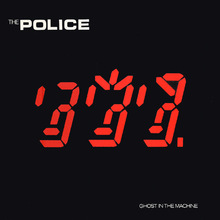 Обкладинка альбому «Ghost in the Machine» (The Police, 1981)