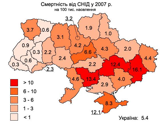 Средняя продолжительность жизни украинца - 64 года. Меньше живет только россиянин и казах, - ВОЗ - Цензор.НЕТ 5945