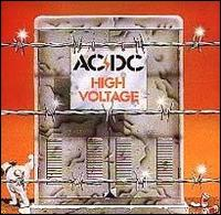 Обкладинка альбому «High Voltage» (AC/DC, 1975)