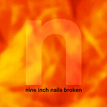 Обкладинка альбому «Broken» (Nine Inch Nails, 1992)