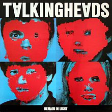 Обкладинка альбому «Remain in Light» (Talking Heads, 1980)