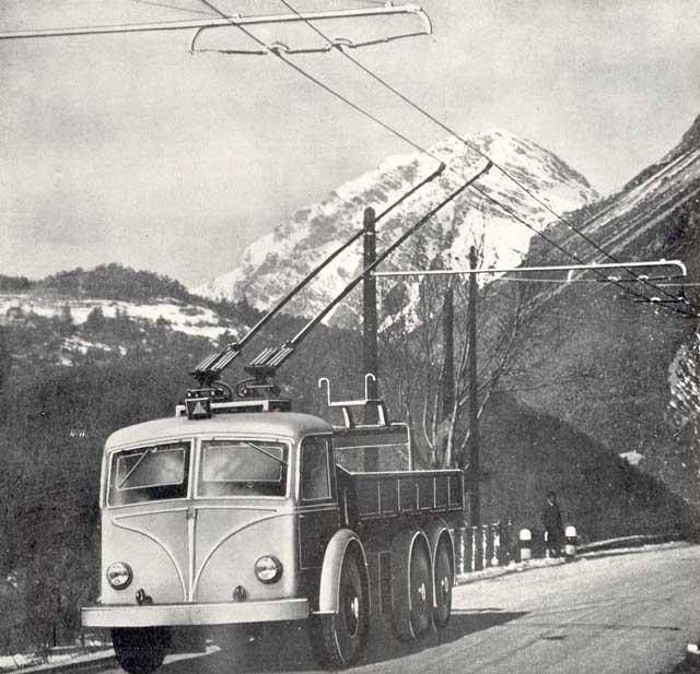 Вантажний тролейбус — Вікіпедія