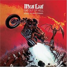 Обкладинка альбому «Bat Out Of Hell» (Міт Лоуф, 1977)