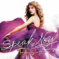 Обкладинка альбому «Speak Now» (Тейлор Свіфт, 2010)