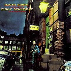Обкладинка альбому «The Rise and Fall of Ziggy Stardust and the Spiders from Mars» (David Bowie, 1972)