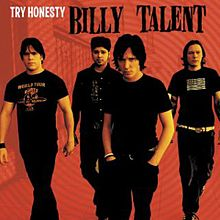 Обкладинка альбому «Try Honesty» (Billy Talent, 2001)