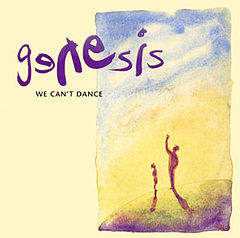 Обкладинка альбому «We Can't Dance» (Genesis, 1991)