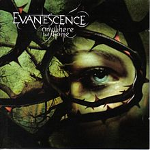 Обкладинка альбому «Anywhere but Home» (Evanescence, 2004)