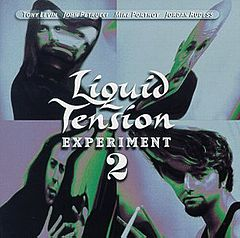 Обкладинка альбому «Liquid Tension Experiment 2» (Liquid Tension Experiment, 1999)