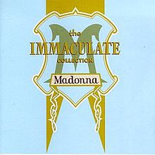Обкладинка альбому «The Immaculate Collection» (Мадонни, 1990)