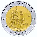 €2 Commemorative coin Germany 2012.jpg
