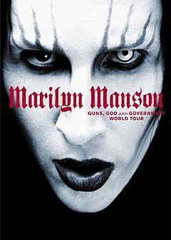 Обкладинка альбому «Guns, God and Government» (Marilyn Manson, 2002)
