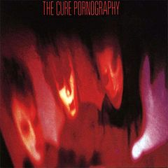 Обкладинка альбому «Pornography» (The Cure, 1982)