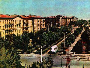 Перехрестя вул радянської і