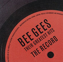 Обкладинка альбому «Their Greatest Hits: The Record» (Bee Gees, 2001)