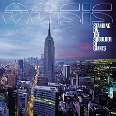 Обкладинка альбому «Standing on the Shoulder of Giants» (Oasis, 2000)