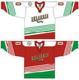 Bulgaria national ice hockey team Home & Away Jerseys.png