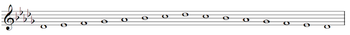 D-flat Major Scale.PNG