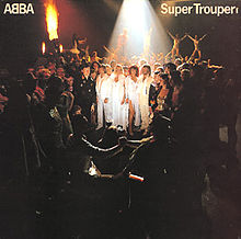 Обкладинка альбому «Super Trouper» (ABBA, 1980)