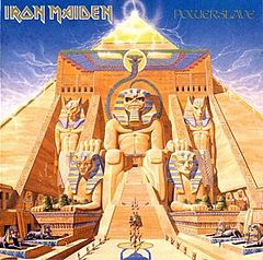 Обкладинка альбому «Powerslave» (Iron Maiden, 1984)