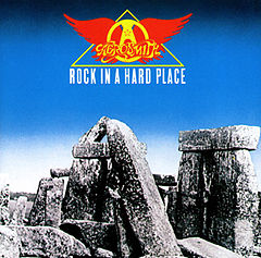 Обкладинка альбому «Rock in a Hard Place» (Aerosmith, 1982)