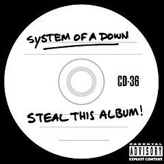 Обкладинка альбому «Steal This Album!» (System of a Down, 2002)