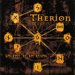 Обкладинка альбому «Secret of the Runes» (Therion, 2001)