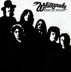Обкладинка альбому «Ready an' Willing» (Whitesnake, 1980)
