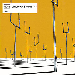 Обкладинка альбому «Origin of Symmetry» (Muse, 2001)