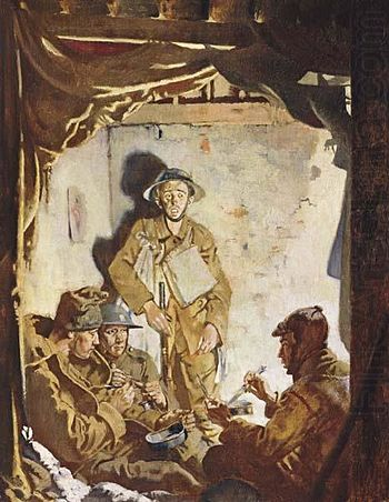345 Sir William Orpen Soldiers Resting at the Front 1918.jpg