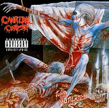 Обкладинка альбому «Tomb of the Mutilated» (Cannibal Corpse, 1992)