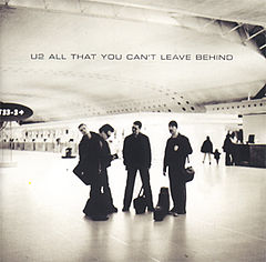 Обкладинка альбому «All That You Can't Leave Behind» (U2, 2000)