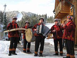 Українська народна музика сучасні