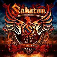 Обкладинка альбому «Coat of Arms» (Sabaton, 2010)