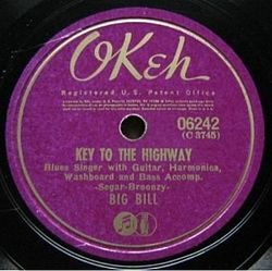 Key to the Highway (OKeh, 1941).jpg
