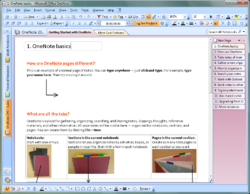 Microsoft Office OneNote 2007.png