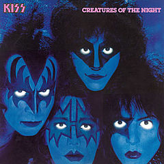 Обкладинка альбому «Creatures of the Night» (Kiss, 1982)