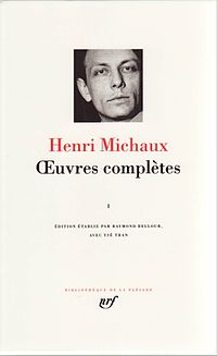Michaux oeuvres completes.JPG