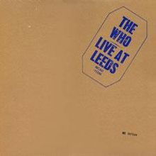 Обкладинка альбому «Live at Leeds» (The Who, 1970)
