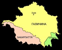 Розташування України