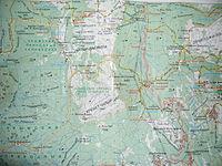 Карта чатир дага