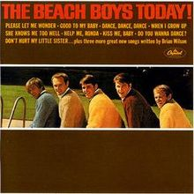 Обкладинка альбому «The Beach Boys Today!» (The Beach Boys, 1965)
