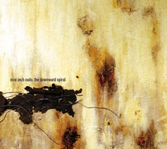 Обкладинка альбому «The Downward Spiral» (Nine Inch Nails, 1994)