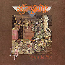 Обкладинка альбому «Toys in the Attic» (Aerosmith, 1975)