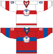Chinese Taipei ice hockey team Home & Away Jerseys.png