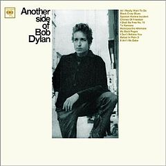 Обкладинка альбому «Another Side of Bob Dylan» (Боб Ділан, 1964)