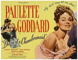 The Diary of a Chambermaid-1946 poster.jpg