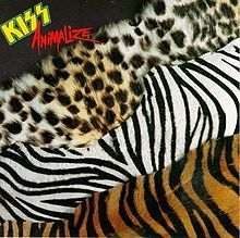 Обкладинка альбому «Animalize» (Kiss, 1984)