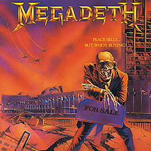 Обкладинка альбому «Peace Sells... But Who's Buying?» (Megadeth, 1986)