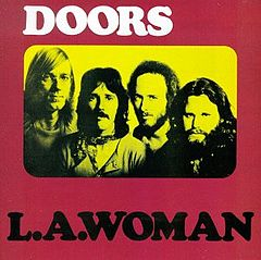 Обкладинка альбому «L.A. Woman» (The Doors, 1971)